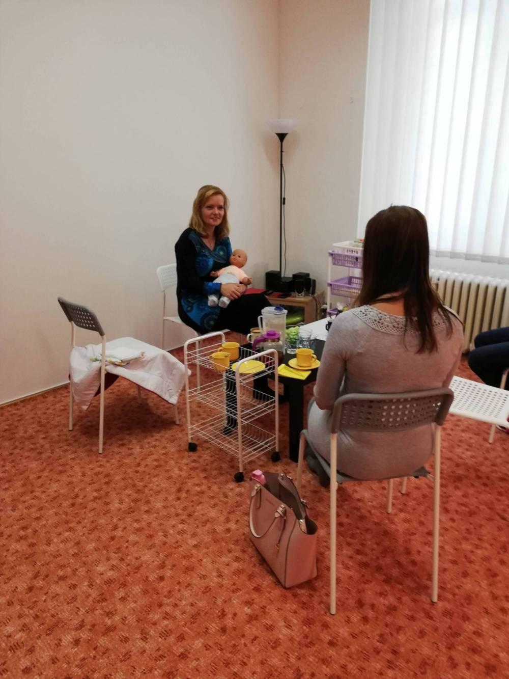 Přednášky pro těhotné a kurzy první pomoci